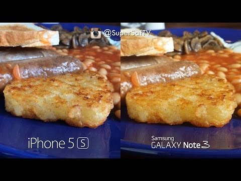 iPhone 5s vs Galaxy Note 3 - Camera Test Comparison