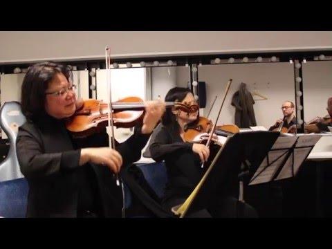 Sneak preview: Schubert met violiste Pei Pei Zhu