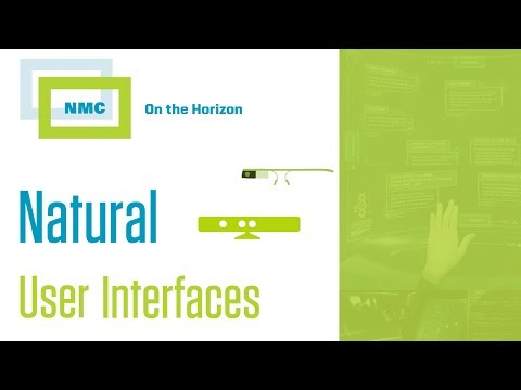 NMC On the Horizon :: Natural User Interfaces
