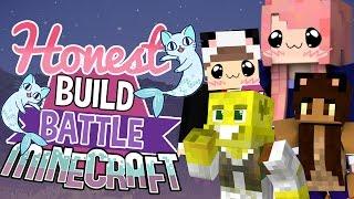 Cat Mermaids   Honest Build Battle Challenge   Minecraft Building Minigame