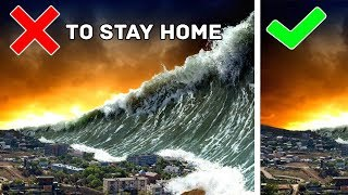 10 WAYS TO SURVIVE IN NATURAL DISASTERS