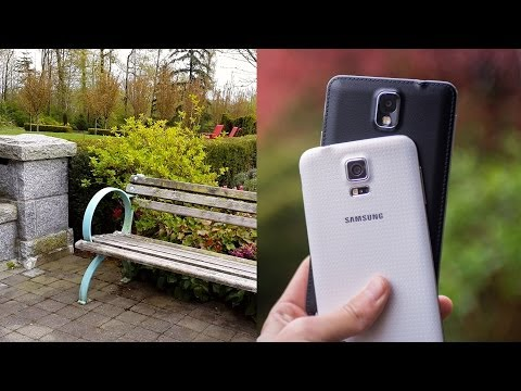 4K Video Test - Samsung Galaxy S5 vs. Note 3 (Which records better 4K?)
