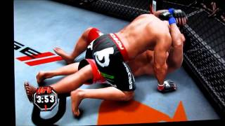 UFC UNDISPUTED 3 XBOX 360 [GAME PLAY]
