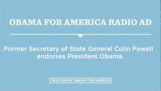 """Endorsed"": Obama for America Radio Ad"