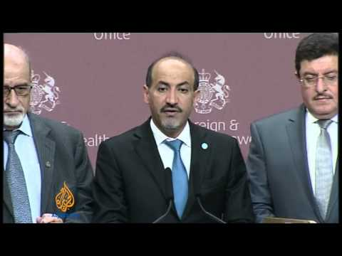 Syrian opposition sets conditions for talks