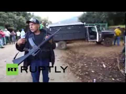 Mexico: Self-Defense Movement takes over policing Michoacan