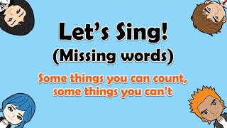 Some things you can count, English on Tour Unit 15-2, How much How many Karaoke Song
