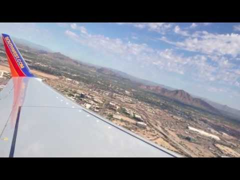 New Plane Smell! Southwest Airlines 737-800 Takeoff From Phoenix!