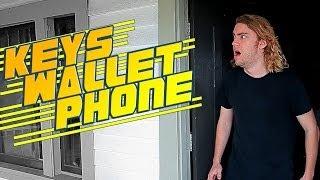Keys, Wallet, Phone