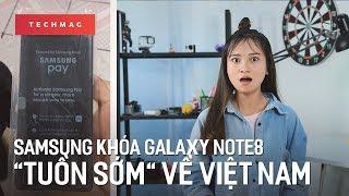 """TechDaily 08/09: Samsung khóa điện thoại Galaxy Note8 """"tuồn sớm"""" về Việt Nam"""