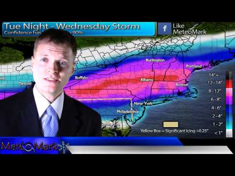 Major Winter Storm For Northeast : Feb 4, 2014