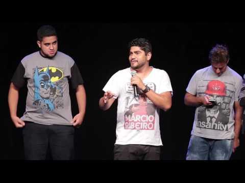 Desafio Comédia Ao Vivo - Crise - Stand Up Comedy