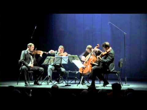 Jerusalem Quaretet: Shostakovich, Quartet No. 8 - 2. Allegro Molto