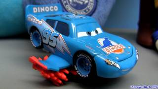 Storm Lightning Mcqueen Blue Dinoco From Disney Cars Pixar