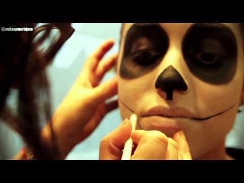 Make-Up Catrina Mexicana - emakeup.es - Cusos GRATIS de maquillaje