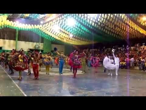 Flor do Mandacarú de Tauá: Etapa municipal do festival de quadrilha 2014 parte 1