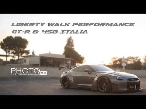Liberty Walk Performance | GT-R & 458 Italia