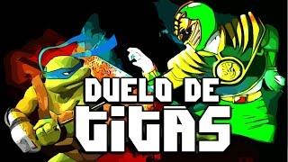 Tartarugas Ninja VS. Power Rangers Duelo De Titãs