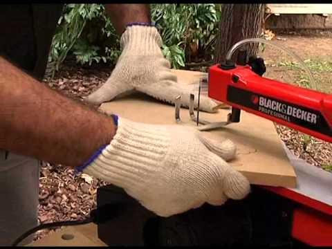 Bt1650 sierra caladora de banco youtube - Sierra para cortar madera ...