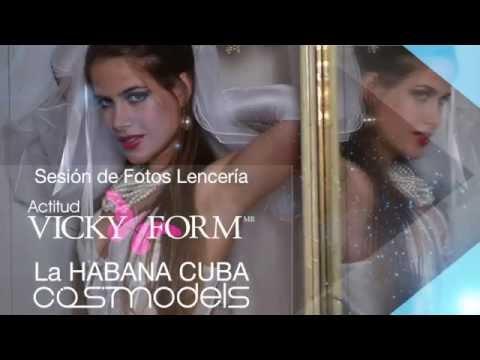 Cosmodels Sesión de fotos Vicky Form Casa de Miglis Habana Cuba versión larga