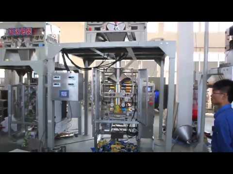 batata frita máquina de embalagem: máquina de rolo de embalagem