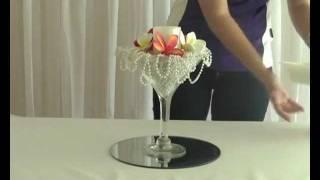 How To Create A Frangipani And Pearl Martini Wedding Or