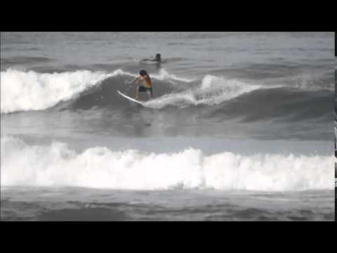 July 11 2014 Surfing Playa Hermosa Costa Rica