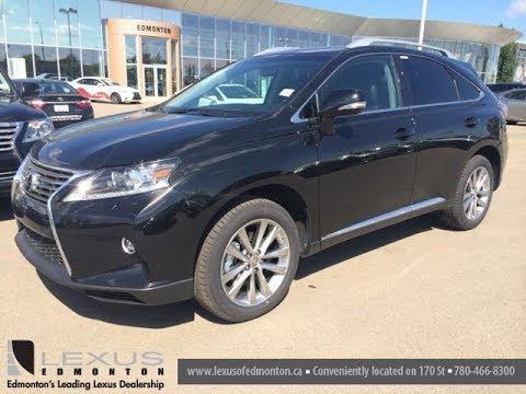 2015 Lexus RX 350 AWD - Black on Black- Technology Package Review - West Edmonton