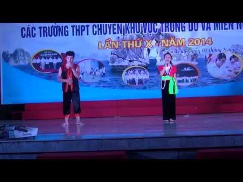 Thành phố bên Sông Đà - Song ca nam nữ THPT chuyên Hoàng Văn Thụ-Tp Hòa Bình.