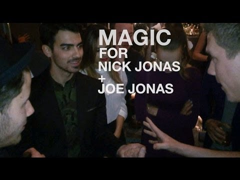 MAGIC MONDAYS :: Magic for Joe and Nick Jonas!