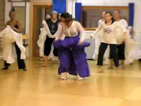 YEMAYA- Afro-Cuban Dance Class taught by Freila Merencio