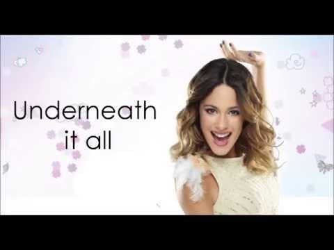Violetta 3 - Underneath It All (Lyrics/Letra) HD