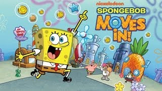 SpongeBob Moves In - iPhone/iPod Touch/iPad - Gameplay HD
