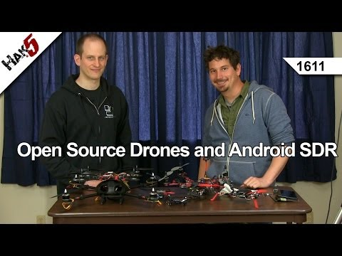 Open Source Drones and Android SDR, Hak5 1611