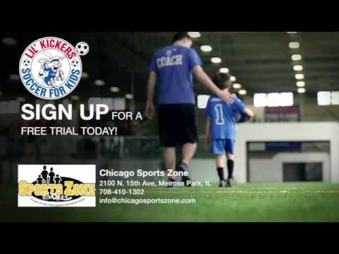 Lil' Kickers at Chicago Sports Zone