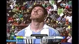 ARGENTINA VS BOLIVIA ELIMINATORIAS 2014, BOLIVIA (1