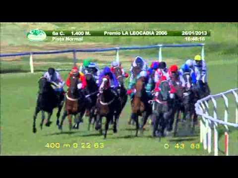 Vidéo de la course PMU PREMIO LA LEOCADIA