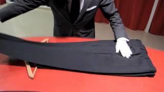 Colgar un pantalón correctamente