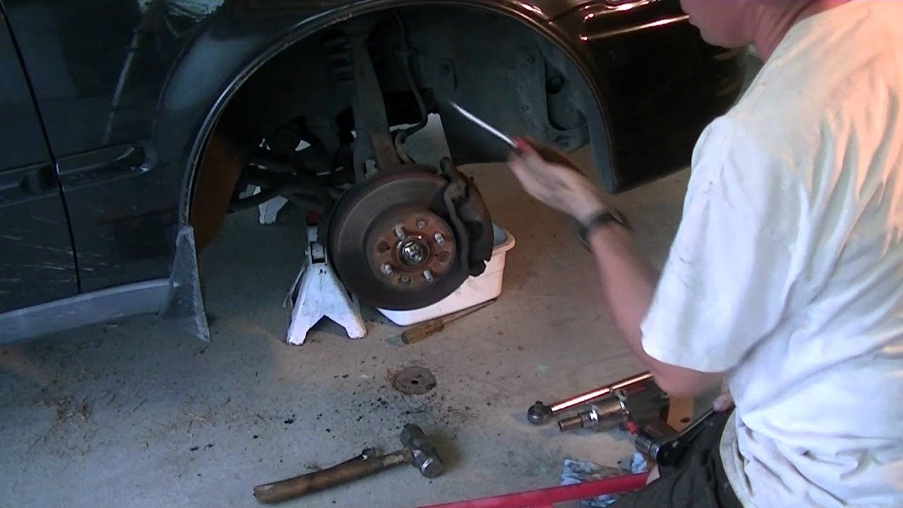 Axle Replacement 97 Honda Civic Youtube