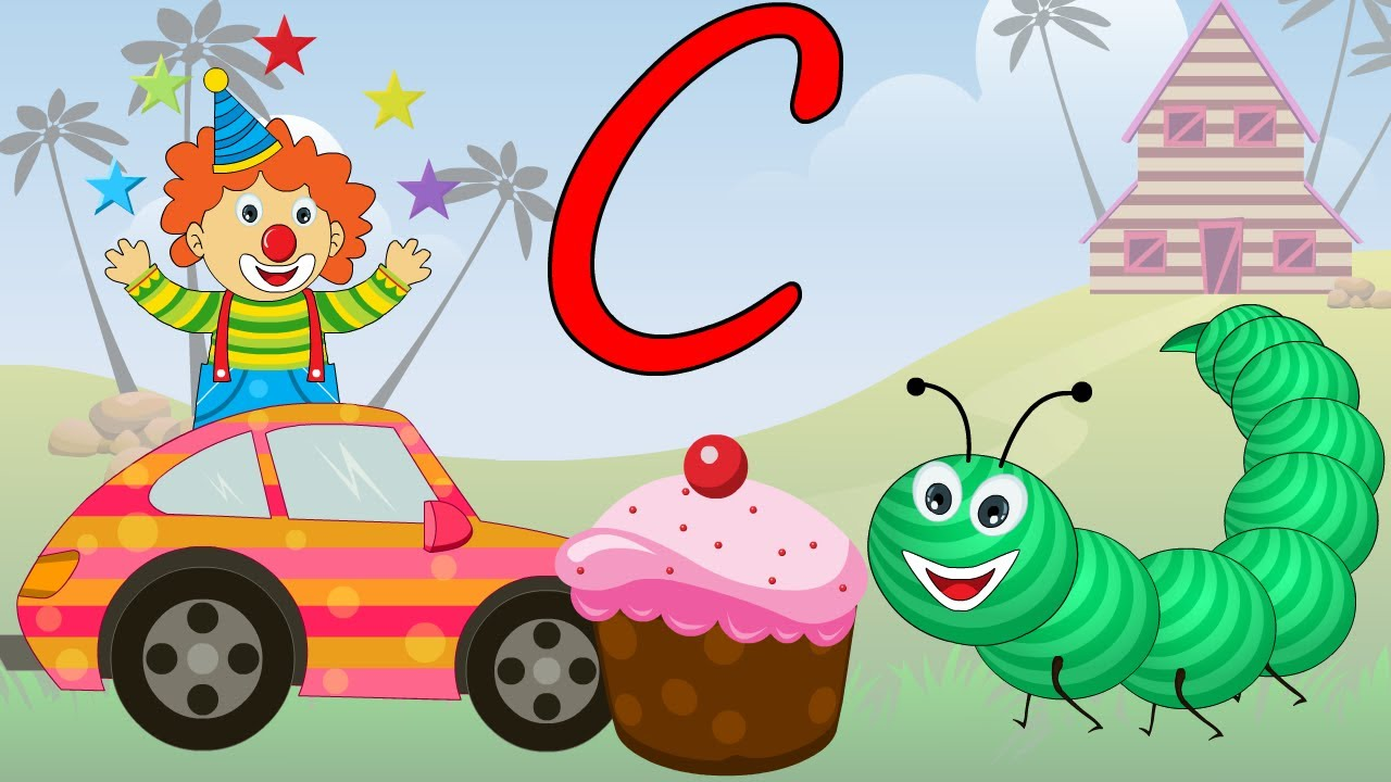 Phonics - Learn About The Letter C - Preschool Activity
