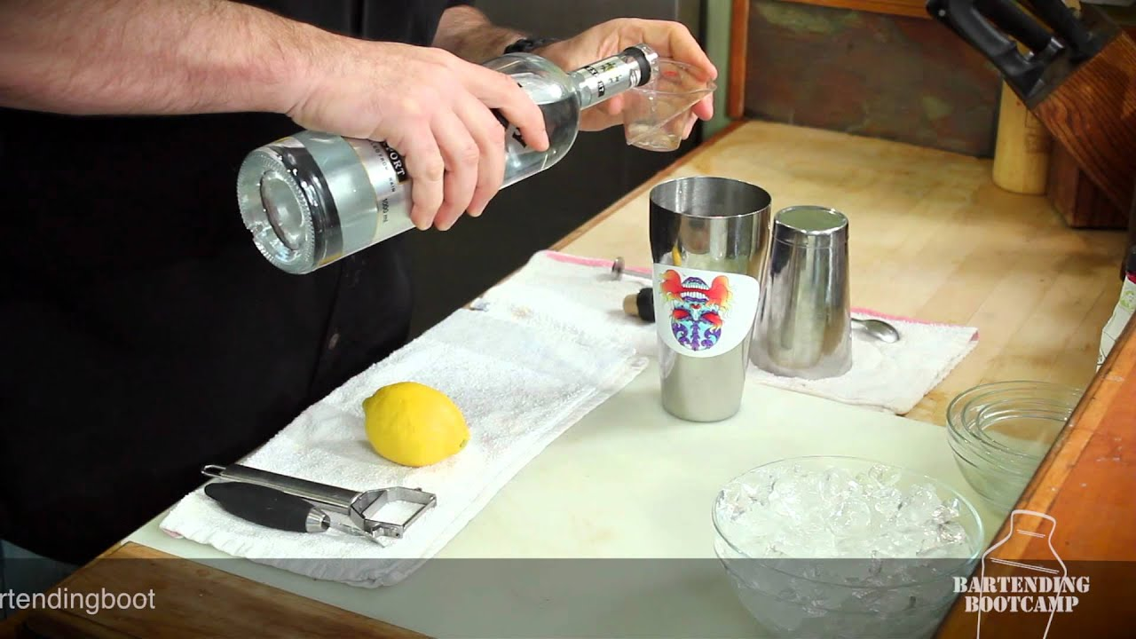 how to make vodka martini bond
