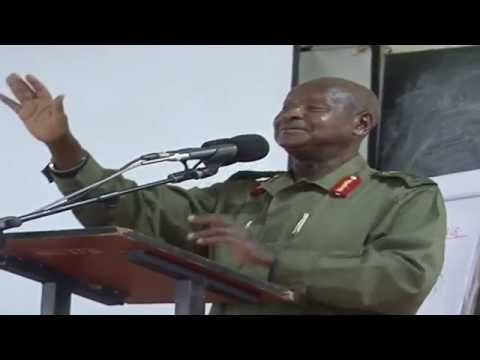 MUSEVENI ON GAY BILL
