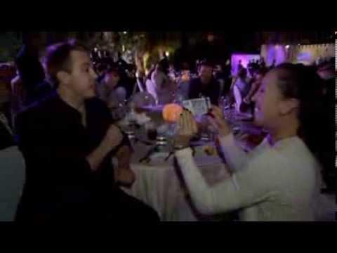 Jelena Jankovic Dubai Duty Free Tennis Championships Magic Trick