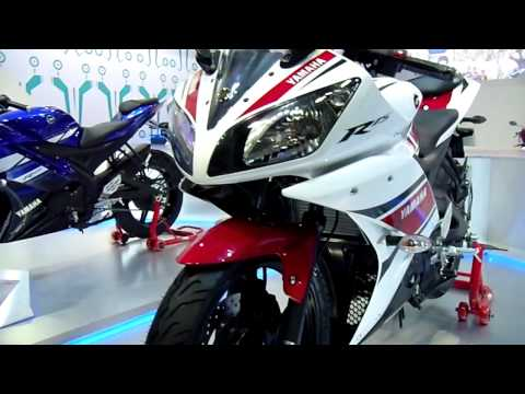 Yamaha R15 at Auto Expo 2012, New Delhi, India
