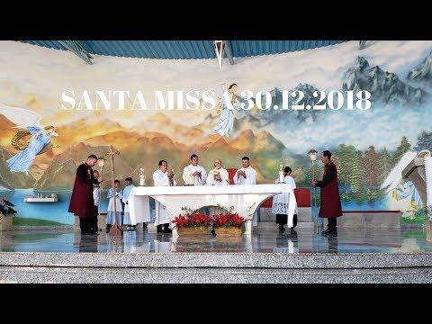 Santa Missa | 30.12.2018 | Padre José Sometti | ANSPAZ