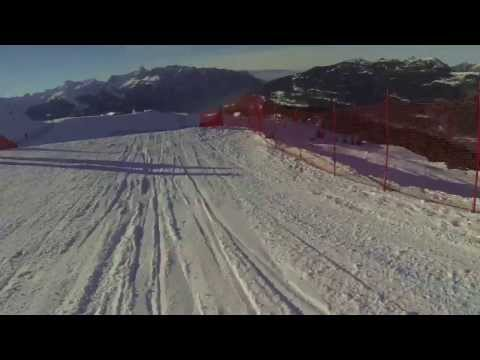GoPro Eva Samkova - SP Montafon 2013, training run