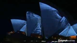 Vivid Festival at Sydney Opera House