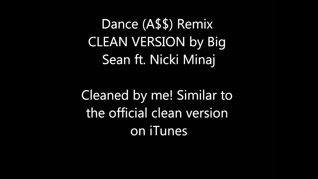 a$$ big sean ft nicki minaj