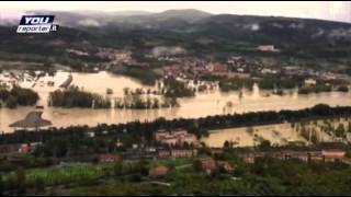 Raw: Heavy Flooding across Central Italy