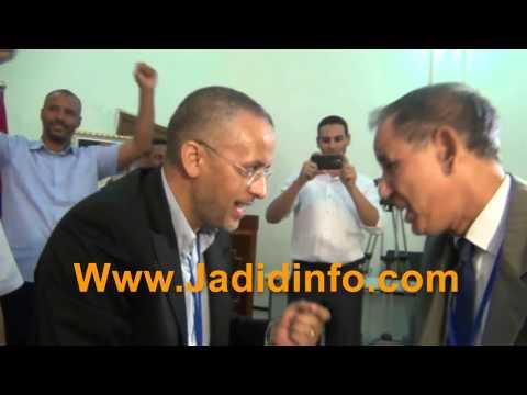 بالفيديو لحظة انتخاب الشوباني رئيسا لجهة درعة تافيلالت